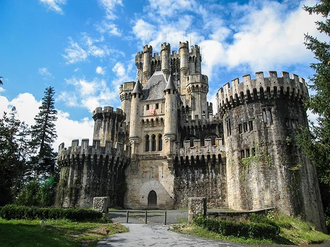 Some of the most beautiful castles in Spain - Castillo de Butrón, Vizcaya, País Vasco