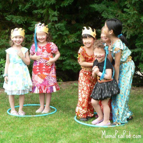 adorable game of Pirates & Mermaids! those homemade crowns really make me smile #UnderTheSea #CampSunnyPatch