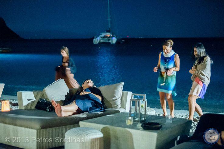 Mykonos Wedding @ Santa Marina by Stella and Moscha - Exclusive Greek Island Weddings | Photo Petros Sordinas