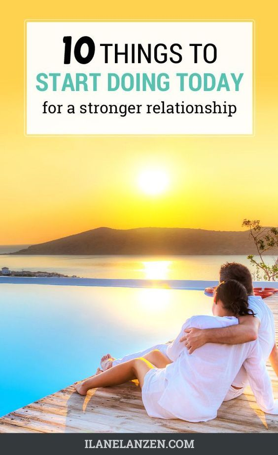 The fact is that relationships require constant maintenance to stay in working order. The following ten tips all work to help boost the emotional and physical intimacy you have, which creates a stronger bond that results in a healthier and stronger relationship.