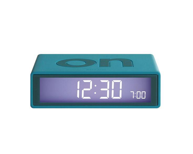 FLIP Alarm Clock (green-blue)