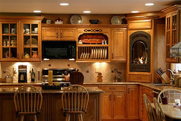 51 best awake home images on pinterest for Warm kitchen ideas