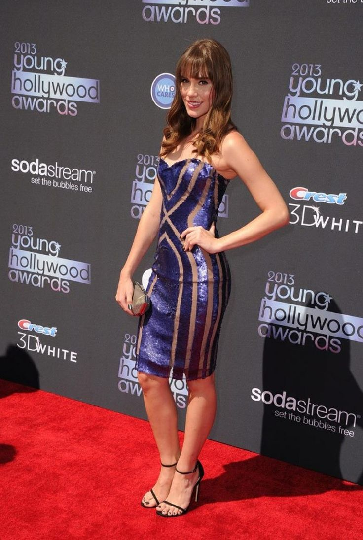 Christa B. Allen wearing Pavoni @ 2013 Young Hollywood Awards