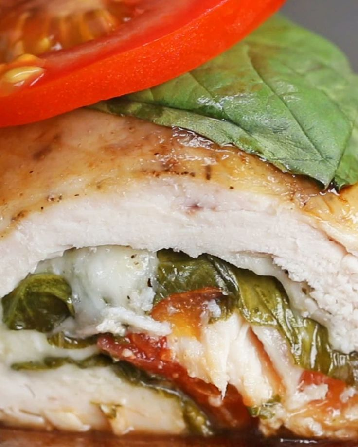These Caprese Chicken Rollups Are The Perfect Easy And Delicious Weeknight Dinner