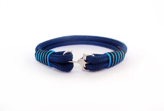 Anchor bracelet Paracord bracelet Men's bracelet Nautical bracelet Mens anchor bracelet Fish hook bracelet Paracord bracelet Rope bracelet