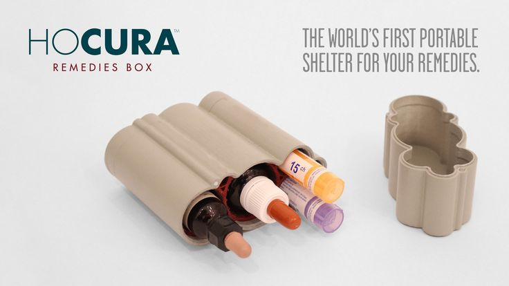 HOCURA - Remedies box. A shelter for your remedies: your medicines, homeopathic and flower remedies or everyday objects can finally get a proper place to be protected.