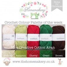 Home for Christmas - RICO Creative Cotton Aran