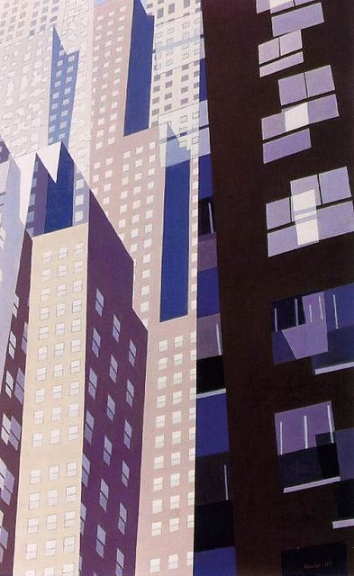 CHARLES SHEELER Windows (1952)