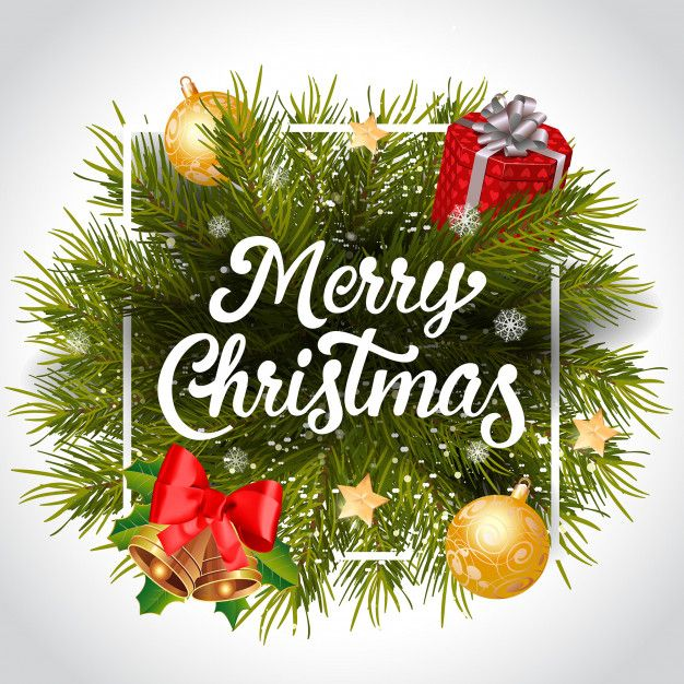 Scarica Gratis Buon Natale Lettering Con Corona In Cornice Christmas Lettering Merry Christmas Pictures Merry Christmas To You