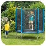 Plum 6ft Trampoline and Enclosure Blue