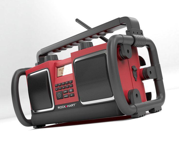 Worksite radio: product visual