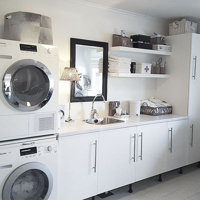 Friday again Wish You all a wonderful friday night Laundry room #myhome…