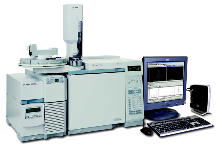 The 6890/5973 GC/MS is the workhorse of our lab