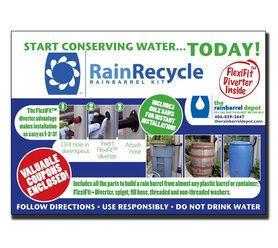 Buy RainRecycle Rain Barrel Kit and other great rain barrel kits. Find product reviews and tips. Shop today.