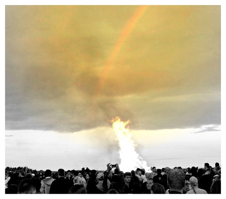 Bonfire meets Rainbow