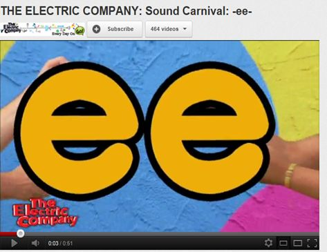 The Electric Company - Sound Carnival -ee-
