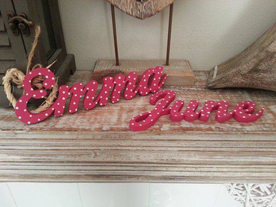 Personalised Wooden Name Sign  For Doors Walls by LoveLettersMe, £2.00