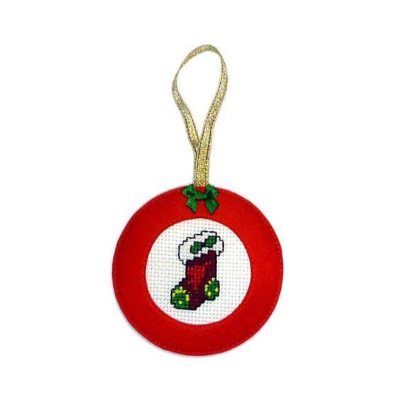 CHRISTMAS STOCKING  Christmas ornaments  Christmas