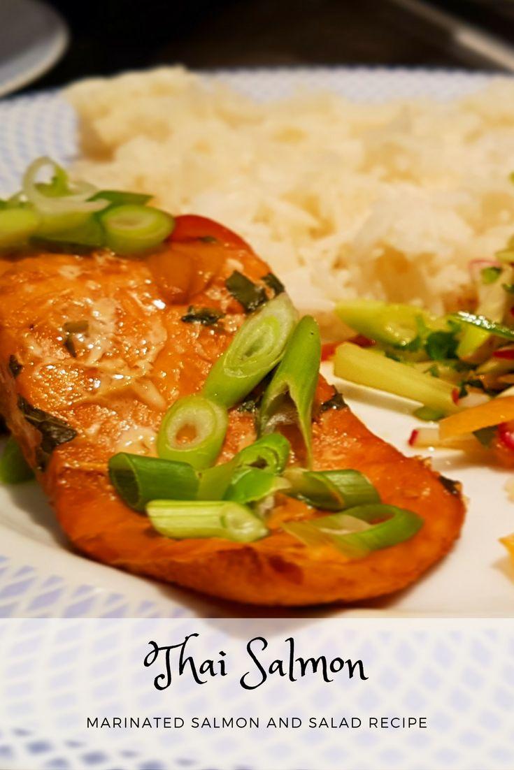 Light and delicious Thai Salmon Recipe
