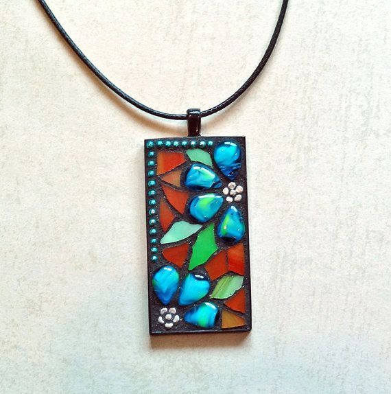 111 best images about Mosaic Jewelry on Pinterest | Shops, Vintage ...