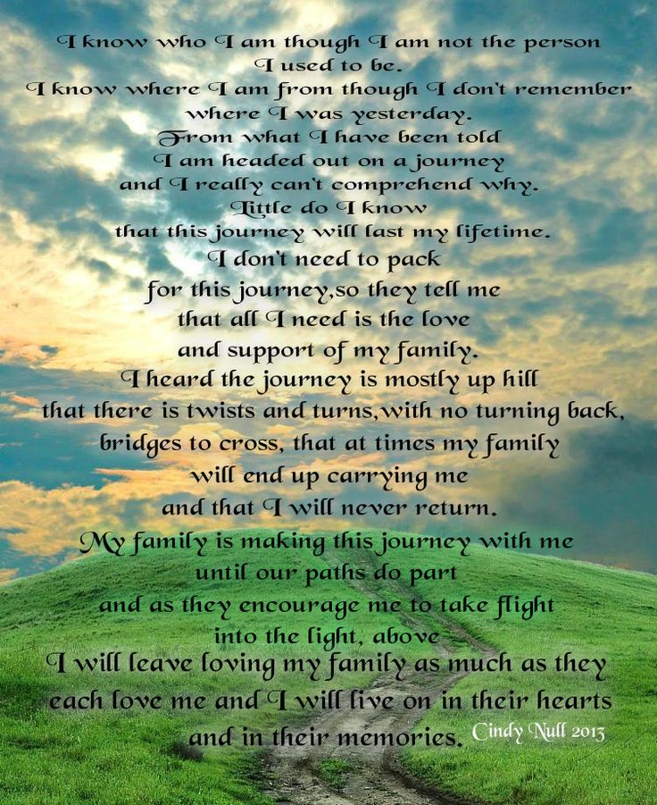 Poem Quotes: 17 Best Ideas About Alzheimers Poem On Pinterest
