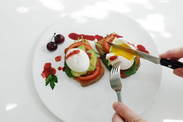 Soft boiled eggs on toasts with avocado, tomatoes and beet hot sauce. How do you like your eggs? Order it here: https://www.kickstarter.com/projects/919123256/jonny-hetherington-habanero-hot-sauce-trio #HabaneroSauce #beet #ArtOfDining #Vancouver #hotsauce #cooking #chef #food #foodporn #summer #yummy #yum #savor #eat #eater #breakfast #brunch #eggs #meal  #habanero #spicy #avocado #tomatoes #bread #parsley