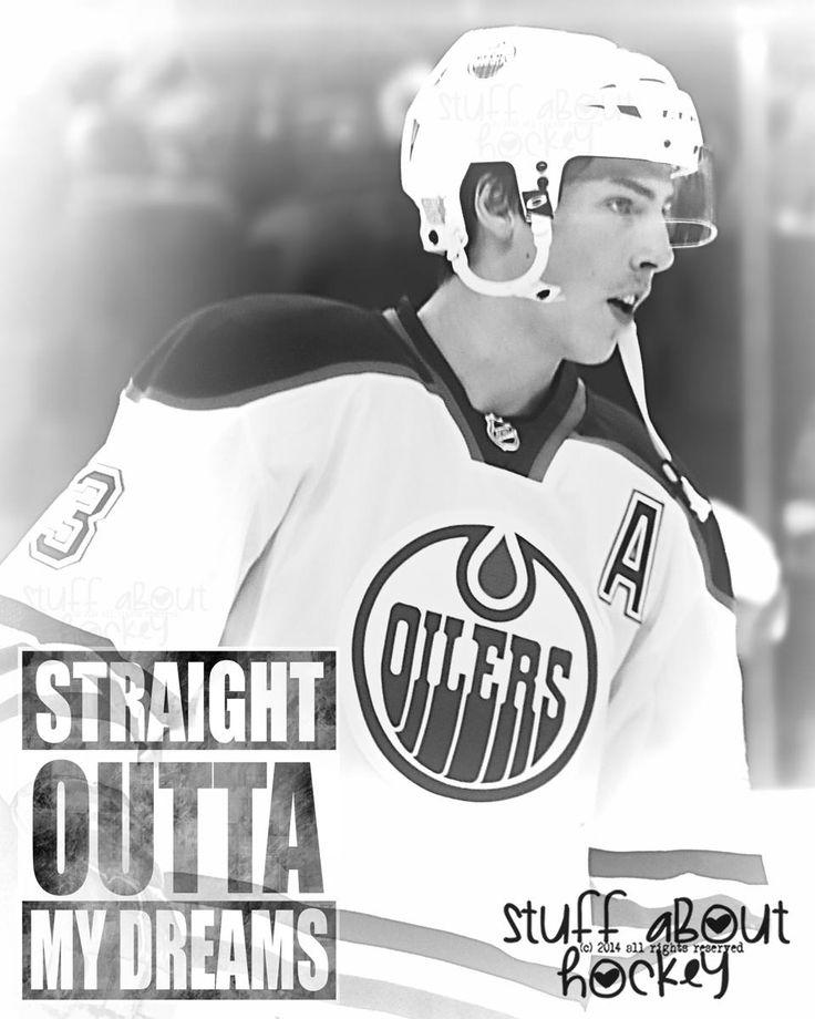 Edmonton Oilers Ryan Nugent-Hopkins (Straight Outta) stuffAboutHockey.com