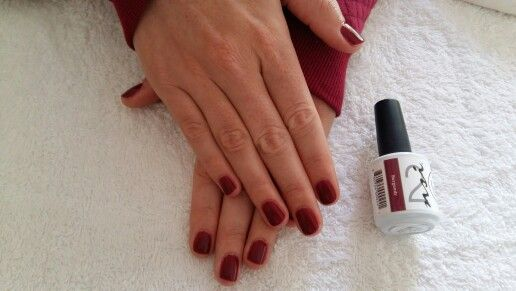 Dramatic nails! #Burgundy #PolishPro #nailswag #mani