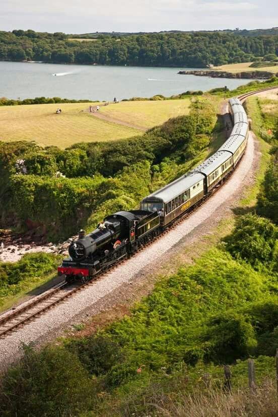 Steam Railway Line,Devon
