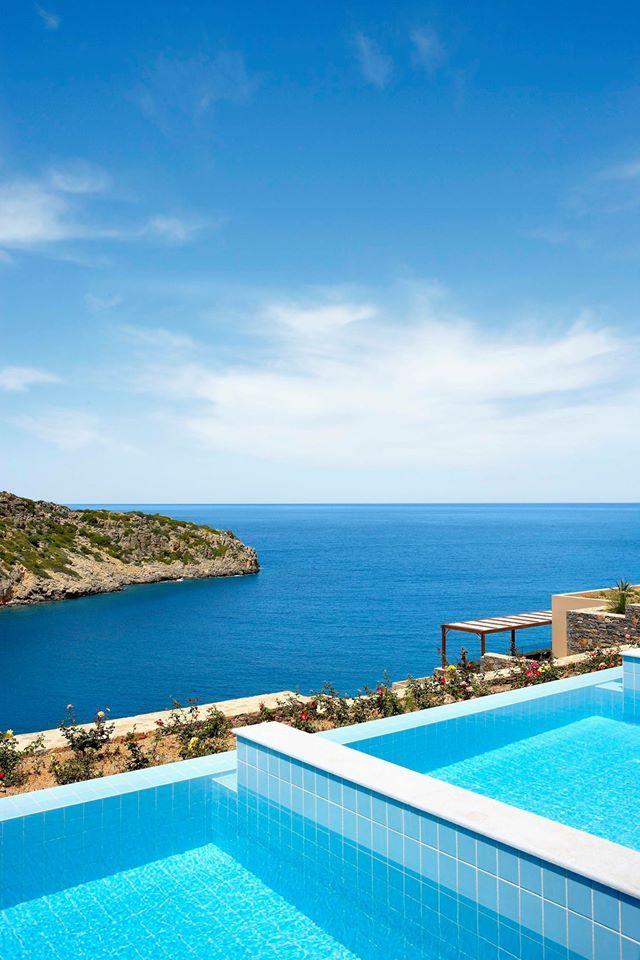 Enjoy the Cretan blue sky!