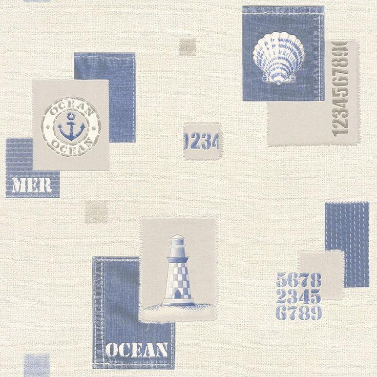 Omyvatelná vinylová tapeta z katalogu Tiles and More 2016