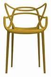 mosterdgele eetkamerstoel design