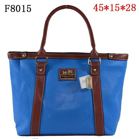 coach outlet stores locations 1hks  New Coach Madison Leather Tote Bag Blue [Coach-0034]