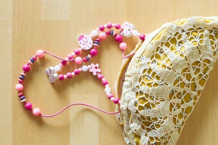 France bag with crochet lace.  #fibergraph #bag #crochet #accessory  #handmade