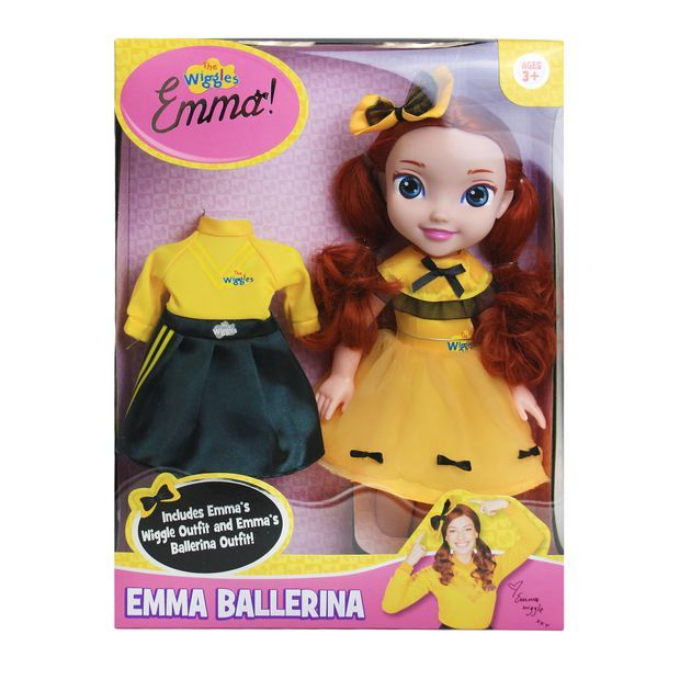 The Wiggles Dress Up Emma Doll 40cm