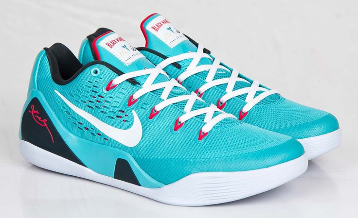 Nike Basketball has just added to the Kobe 9 EM lineup with this dusty cactus dominant edition. Engineered mesh built with Flywire support, the kicks are b