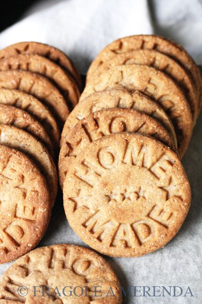 Biscotti integrali alle castagne (una ricetta da FRAGOLE A MERENDA)