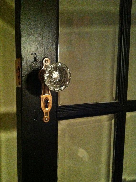 31 best Antique Glass Door Knobs 1910\'s images on Pinterest | Glass ...