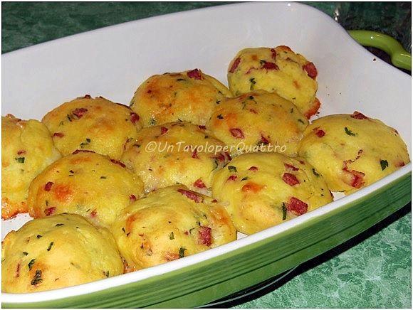 Crocchette di patate.. al forno | Un tavolo per quattro