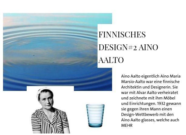 Finnisches Design#2 Aino Aalto