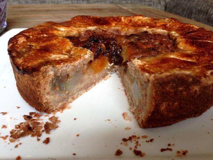 Good to be you | Recept | Perentaart met noten (zonder geraffineerde suikers) | http://www.goodtobeyou.nl