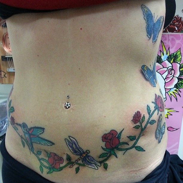 Best 25 tummy tuck scars ideas on pinterest tummy for Stomach scar tattoos