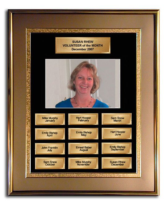 employee of the month picture frame