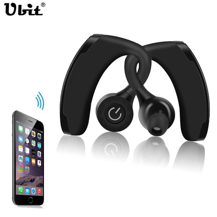 Ubit V11 True Wireless Earphone Headset TWS Dual Headphone Voice Control Handsfree Business Headphones Noise Cancelling Earbuds #Affiliate