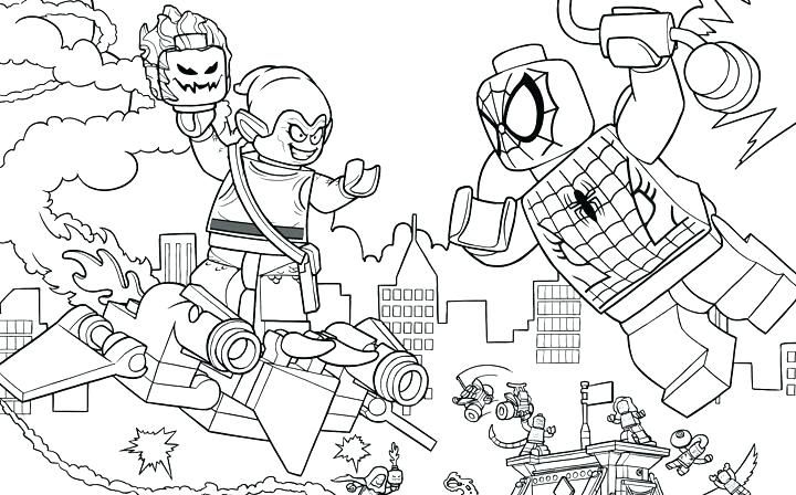 Lego Avengers Coloring Pages Marvel Coloring Superhero Coloring