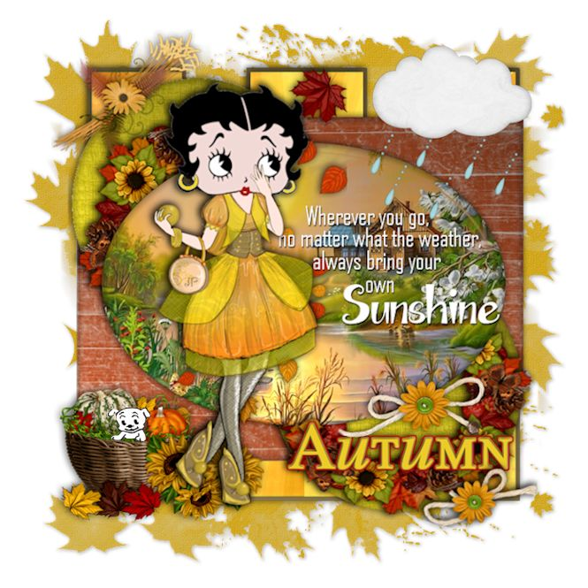 251 best Betty Boop Autumns images on Pinterest   Betty boop ...