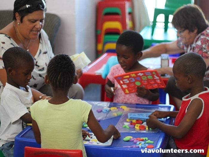 Fikelela Children's Home. Join this educational enrichment project and help with fun activities, reading, songs and child care at a beautiful children's home near Cape Town.
