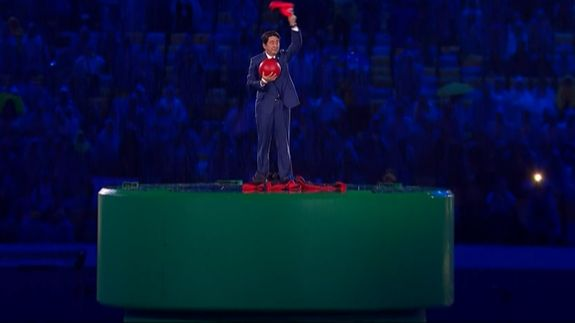 Japan's prime minister dressed as Super Mario stole the show at the Rio finale