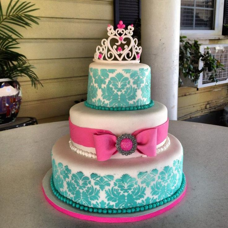 737 best sweet 16s birthday cakes teens images on Pinterest