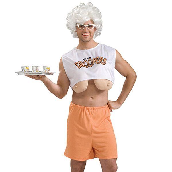 hallowween costume boob